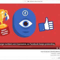 המלחמה בין שירות הוידאו של פייסבוק ליוטיוב